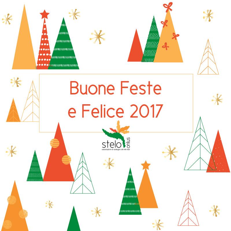 Care amiche e cari amici di Stelo, vi porgiamo i nostri più sentiti auguri per un felice Natale ed un sereno Anno Nuovo da Stelo Onlus!